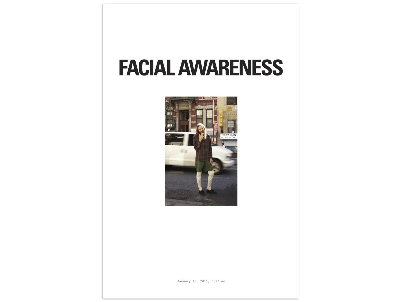 12/31 – Facial Awareness
