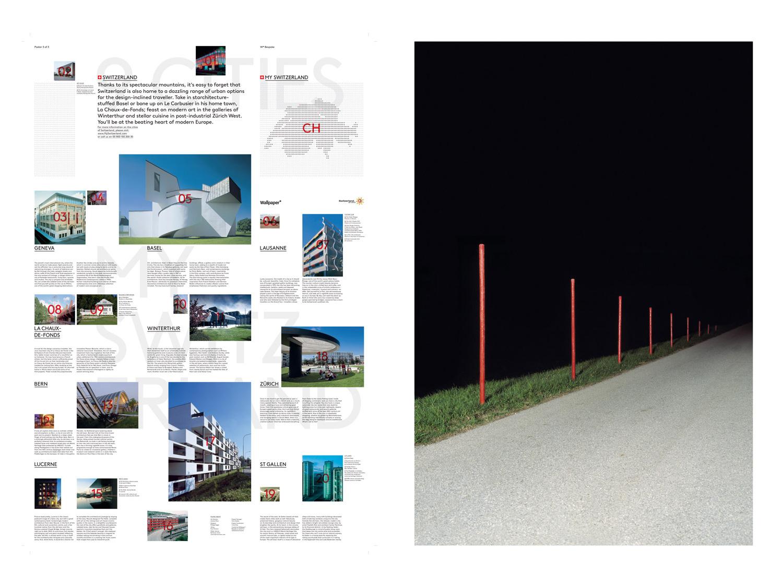 23/31 – Swiss Tourism Posters at Wallpaper*, photo: Körner Union