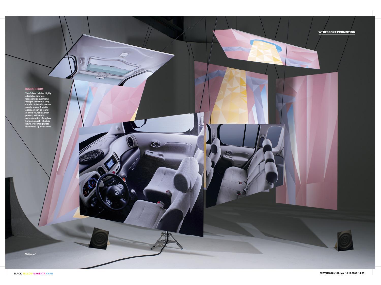 29/31 – Nissan Cube campaign at Wallpaper*, photo: Grégoire Alexandre